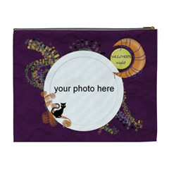 Halloween Night Cosmetic Bag Xl By Zornitza   Cosmetic Bag (xl)   Zv78925r7dhk   Www Artscow Com Back