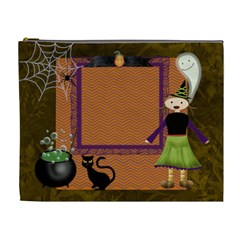 Halloween Party Cosmetic Bag Xl By Zornitza   Cosmetic Bag (xl)   H14aprv8g9j9   Www Artscow Com Front