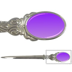 Violet To Wisteria Gradient Letter Opener