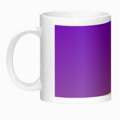 Violet To Wisteria Gradient Glow In The Dark Mug by BestCustomGiftsForYou