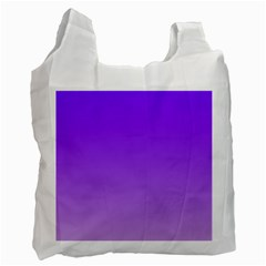 Violet To Wisteria Gradient Recycle Bag (two Sides) by BestCustomGiftsForYou