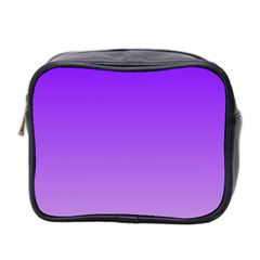 Violet To Wisteria Gradient Mini Travel Toiletry Bag (Two Sides) by BestCustomGiftsForYou