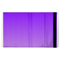 Violet To Wisteria Gradient Apple Ipad 3/4 Flip Case by BestCustomGiftsForYou