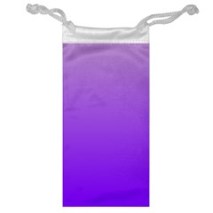 Wisteria To Violet Gradient Jewelry Bag by BestCustomGiftsForYou