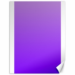 Wisteria To Violet Gradient Canvas 18  X 24  (unframed) by BestCustomGiftsForYou