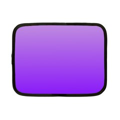 Wisteria To Violet Gradient Netbook Case (small) by BestCustomGiftsForYou