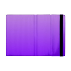 Wisteria To Violet Gradient Apple Ipad Mini Flip Case by BestCustomGiftsForYou