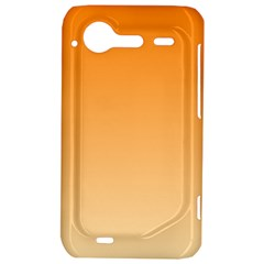 Orange To Peach Gradient HTC Incredible S Hardshell Case  by BestCustomGiftsForYou