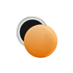 Peach To Orange Gradient 1 75  Button Magnet by BestCustomGiftsForYou