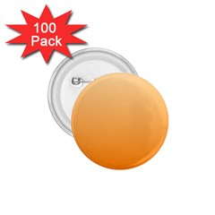 Peach To Orange Gradient 1 75  Button (100 Pack) by BestCustomGiftsForYou