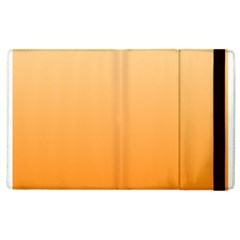 Peach To Orange Gradient Apple Ipad 2 Flip Case by BestCustomGiftsForYou
