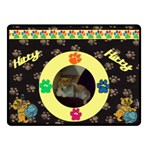 Cat Lover s small blanket - Fleece Blanket (Small)