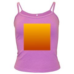 Amber To Mahogany Gradient Spaghetti Top (colored) by BestCustomGiftsForYou