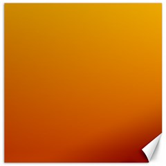 Amber To Mahogany Gradient Canvas 20  X 20  (unframed) by BestCustomGiftsForYou