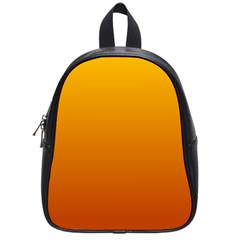 Amber To Mahogany Gradient School Bag (small) by BestCustomGiftsForYou