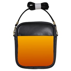 Amber To Mahogany Gradient Girl s Sling Bag by BestCustomGiftsForYou
