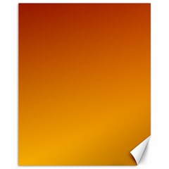 Mahogany To Amber Gradient Canvas 11  X 14  (unframed)