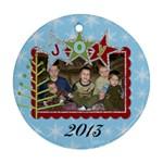 2013 Ornament 2 - Ornament (Round)