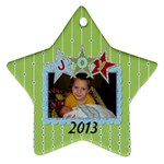 2013 Star Ornament - Ornament (Star)