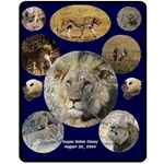 Lion Blanket - Fleece Blanket (Medium)