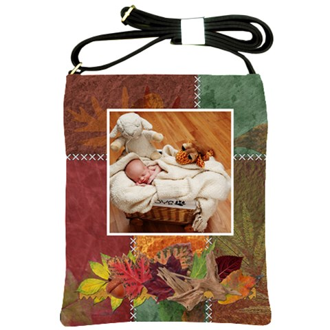 Autumn Shoulder Sling Bag By Lil    Shoulder Sling Bag   Oa6enrkke1nc   Www Artscow Com Front