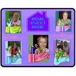 Home Sweet Home medium blanket - Fleece Blanket (Medium)