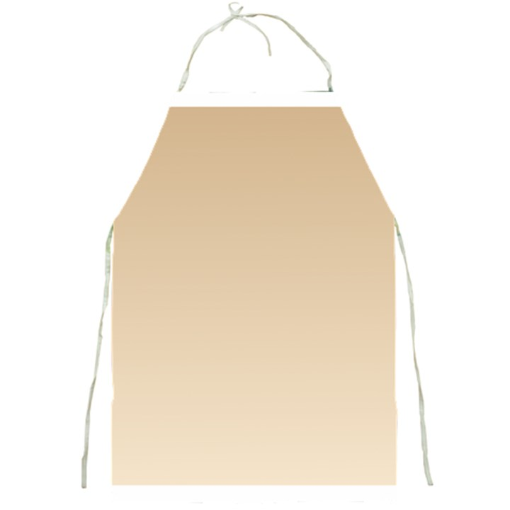 Tan To Champagne Gradient Apron