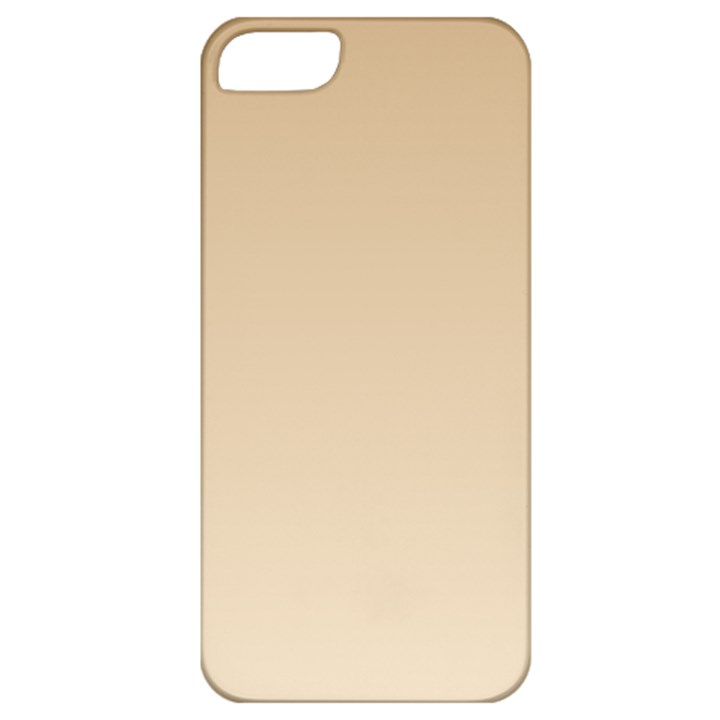 Tan To Champagne Gradient Apple iPhone 5 Classic Hardshell Case