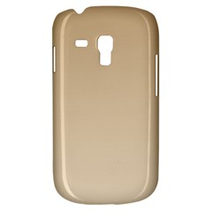 Tan To Champagne Gradient Samsung Galaxy S3 Mini I8190 Hardshell Case by BestCustomGiftsForYou