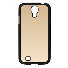 Tan To Champagne Gradient Samsung Galaxy S4 I9500 (black)