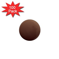 Chamoisee To Seal Brown Gradient 1  Mini Button Magnet (100 Pack)