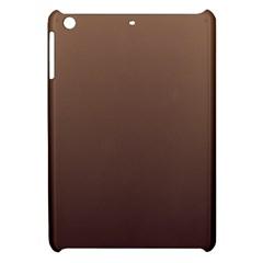 Chamoisee To Seal Brown Gradient Apple Ipad Mini Hardshell Case by BestCustomGiftsForYou
