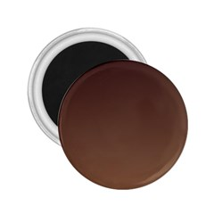 Seal Brown To Chamoisee Gradient 2 25  Button Magnet