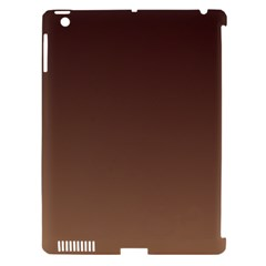 Seal Brown To Chamoisee Gradient Apple Ipad 3/4 Hardshell Case (compatible With Smart Cover) by BestCustomGiftsForYou