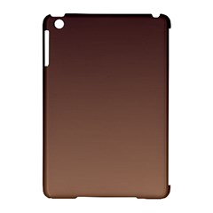 Seal Brown To Chamoisee Gradient Apple Ipad Mini Hardshell Case (compatible With Smart Cover)