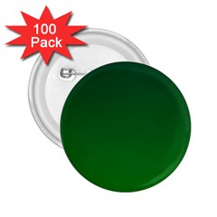 Dark Green To Green Gradient 2 25  Button (100 Pack) by BestCustomGiftsForYou