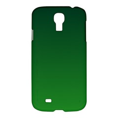 Dark Green To Green Gradient Samsung Galaxy S4 I9500 Hardshell Case by BestCustomGiftsForYou