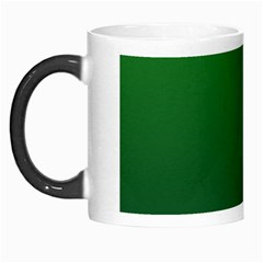 Green To Dark Green Gradient Morph Mug by BestCustomGiftsForYou