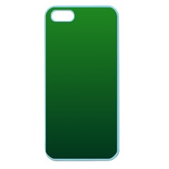 Green To Dark Green Gradient Apple Seamless Iphone 5 Case (color) by BestCustomGiftsForYou