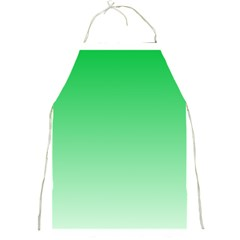 Dark Pastel Green To Pastel Green Gradient Apron by BestCustomGiftsForYou