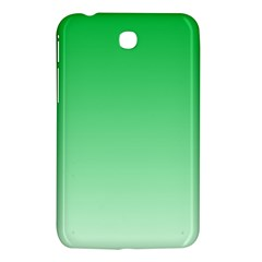 Dark Pastel Green To Pastel Green Gradient Samsung Galaxy Tab 3 (7 ) P3200 Hardshell Case  by BestCustomGiftsForYou