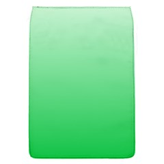 Pastel Green To Dark Pastel Green Gradient Removable Flap Cover (Small)