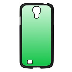Pastel Green To Dark Pastel Green Gradient Samsung Galaxy S4 I9500 (black) by BestCustomGiftsForYou