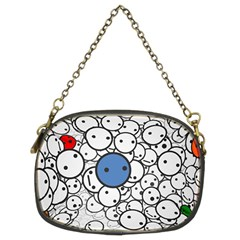 Smiley Chain Purse (two Side) by Contest1713515