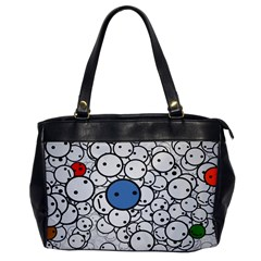 Smiley Oversize Office Handbag (one Side) by Contest1713515