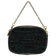 Splash Of Color Chain Purse (one Side)