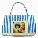 My Striped Blue Tote Bag