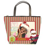 Christmas bag Alissa - Bucket Bag