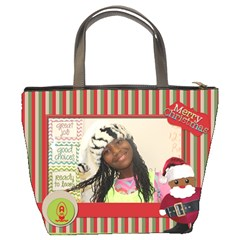 Christmas Bag Alissa By Meredith Hazel   Bucket Bag   Whv4hb4kb524   Www Artscow Com Back