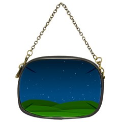 Rolling Hills Chain Purse (two Side)